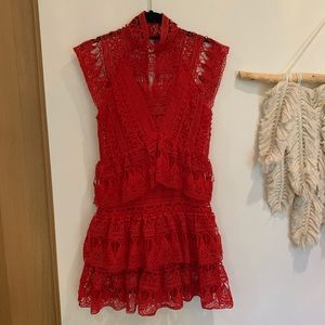 NASTY GAL red dress
